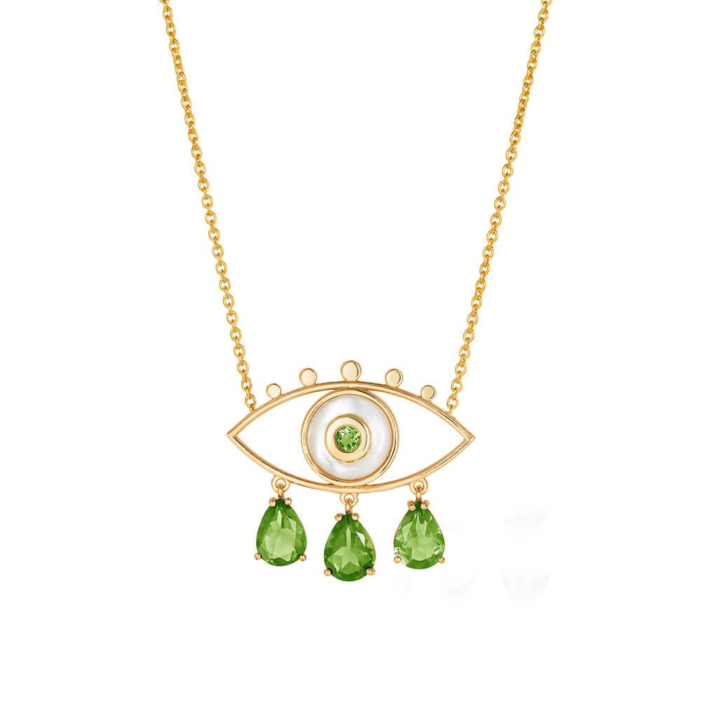 ML246-Boho-Eyes-Peridot-Necklace