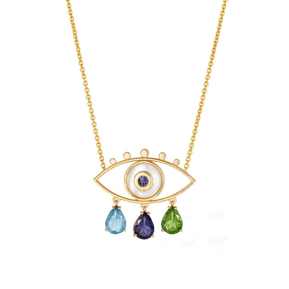 ML262-Boho-Eyes-Blues-Necklace